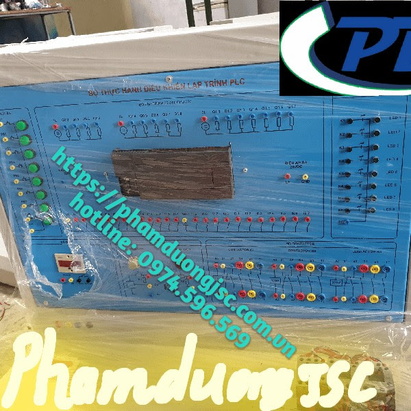 MÔ HÌNH THỰC HÀNH PLC SIEMENS S7-200