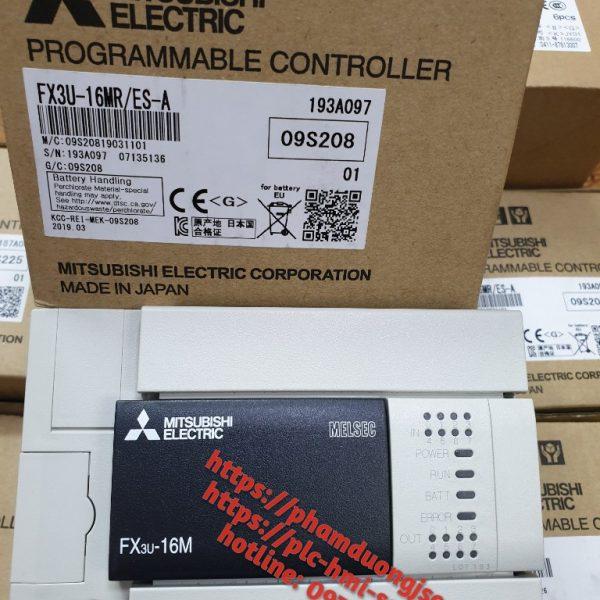 1 PLC FX3U-16MR/ES-A GIÁ 3.250.000 VNĐ