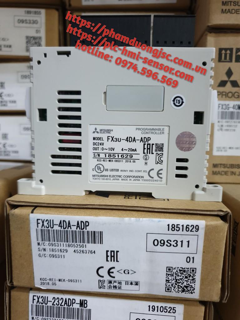 Mô đun 4 ngõ ra Analog FX3U-4DA-ADP