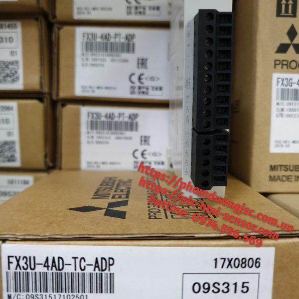 Mô đun nhiệt FX3U-4AD-TC-ADP