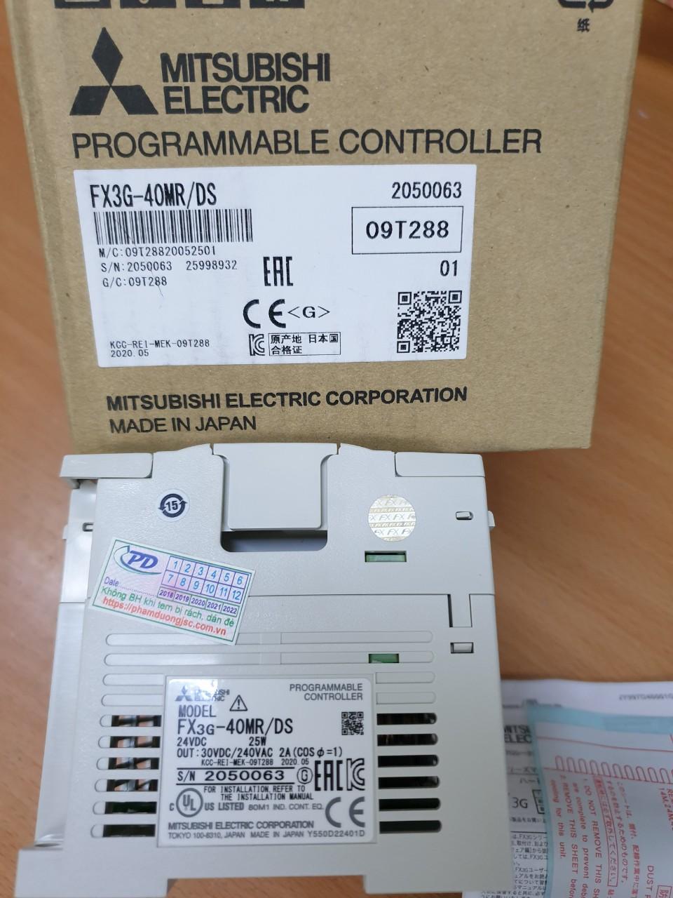 PLC MITSUBISHI FX3G-40MR/DS